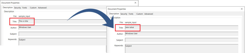 Edit Metadata by matching property name using Regular Expression in PDF Documents using REST API in C#