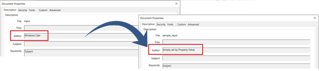 Edit Metadata by matching property value in PDF Documents using REST API in C#