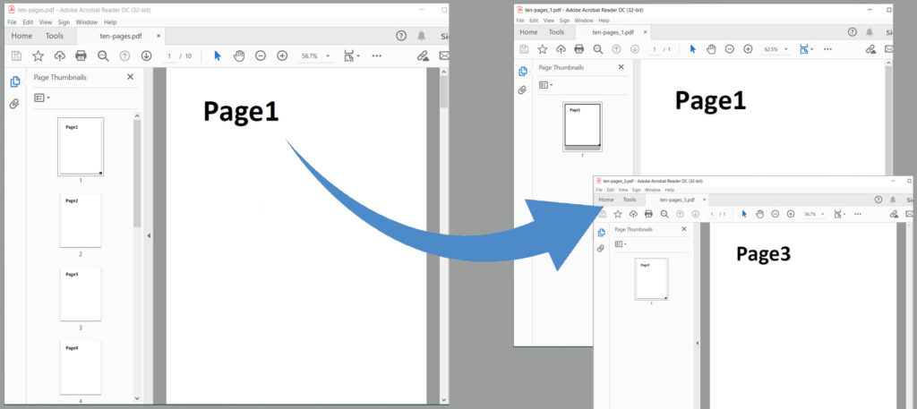 Extract Specific Pages From PDF using Python