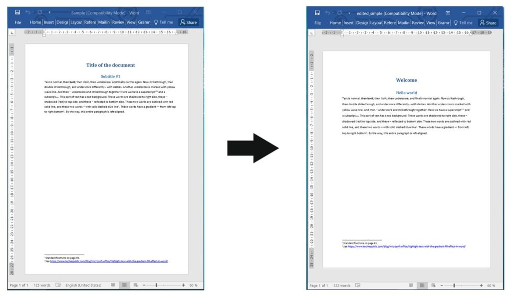 Edit Word Documents using a REST API in Node.js