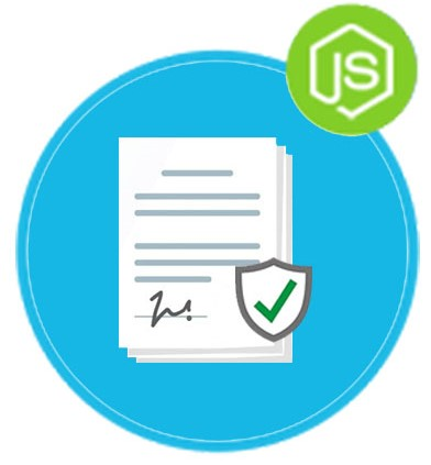 Sign Documents with Digital Signatures using REST API in Node.js